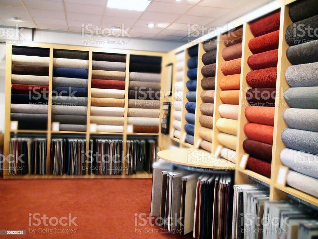 Carpet choices stock photo