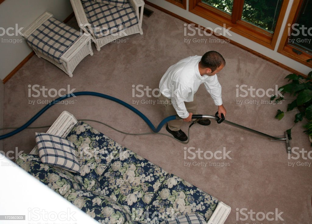Carpet Cleaner royalty-free stock photo