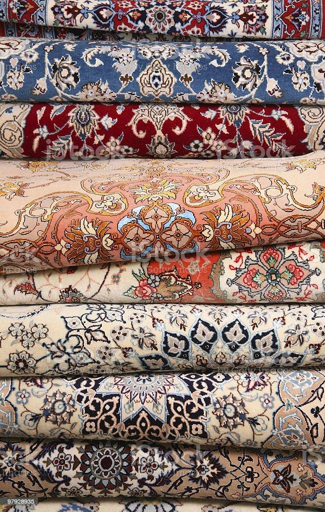 Carpet detail royalty-free stock photo