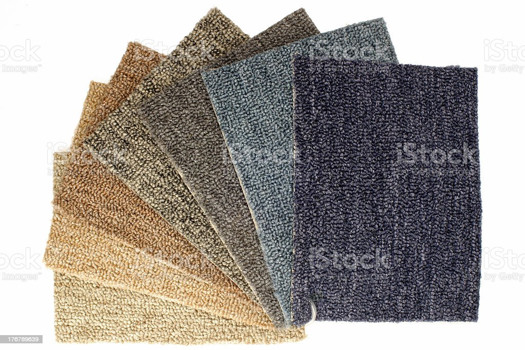 Carpet fan stock photo