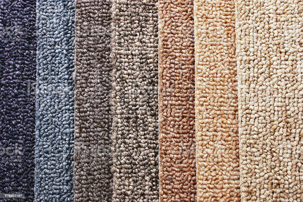 Carpet Guide Strips stock photo