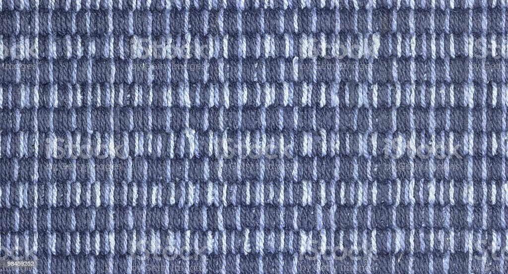carpet in blue royalty-free stock photo