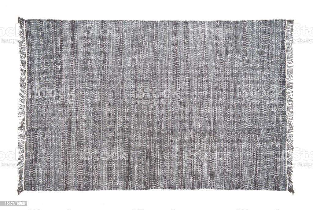 Alfombra aislado sobre fondo blanco - foto de stock
