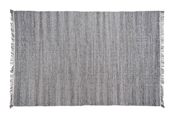 Carpet isolated on the white background stock photo
