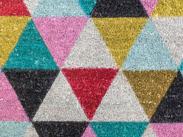 - muster - teppich geometrisch stock-fotos und bilder