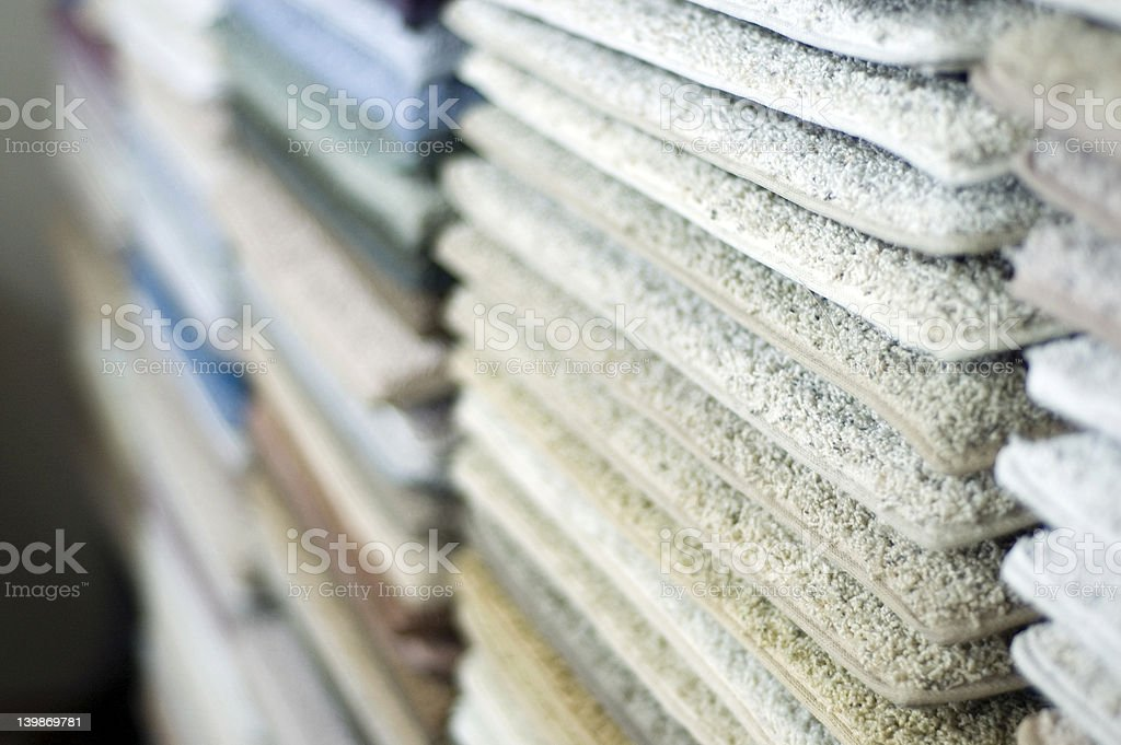 Carpet Samples 3 stock photo