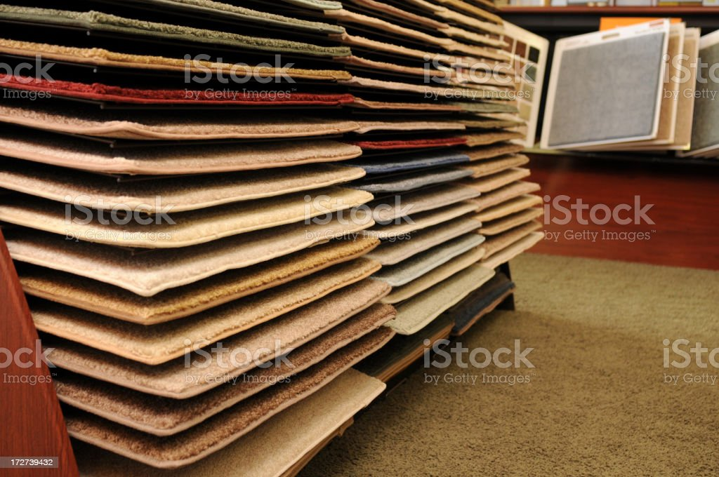 Carpet Samples royalty-free stock photo