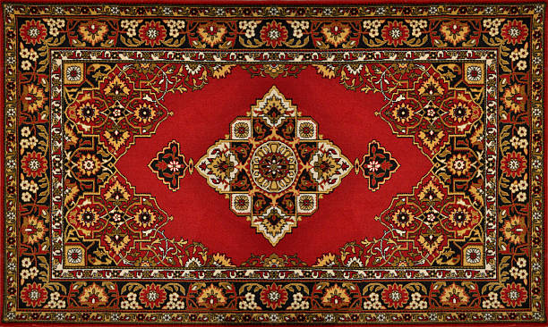 Carpet Texture Traditional Red Carpet Texture persian culture stock pictures, royalty-free photos & images