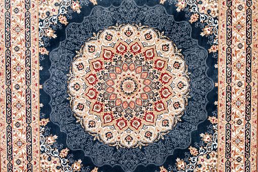 istock carpet Turkish traditional decoration hand made 1153410907