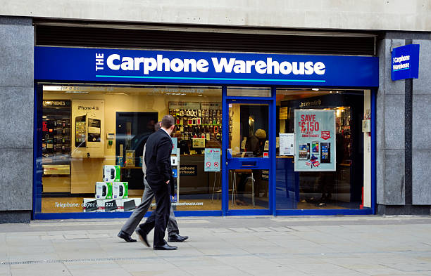 Carphone Warehouse outlet stock photo