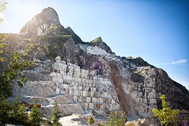Carrara - Italy stock photo