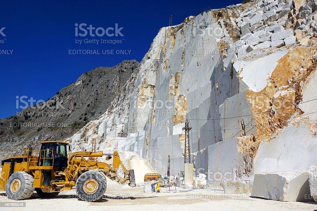 Carrara-Marmor-Quarry in Italien – Foto