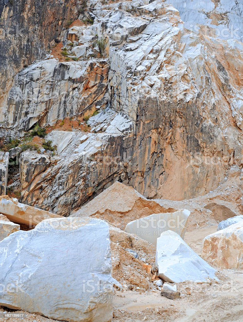 Carrara Marble Quarry Stock Photo - Download Image Now - iStock