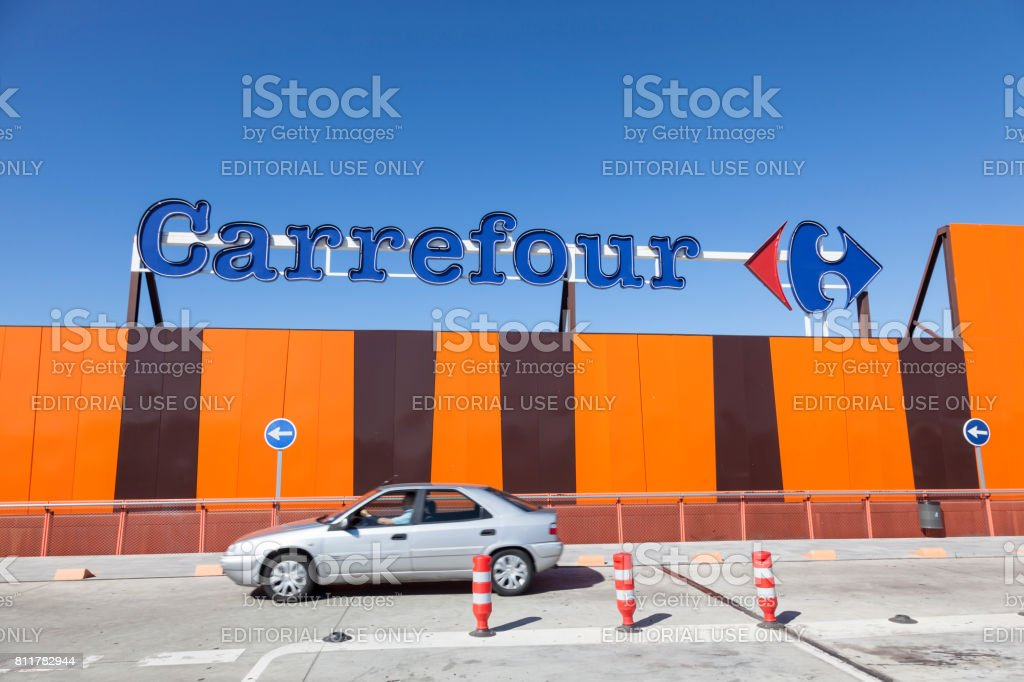 Carrefour-Supermarkt – Foto