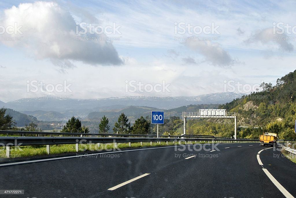 carretera royalty-free stock photo