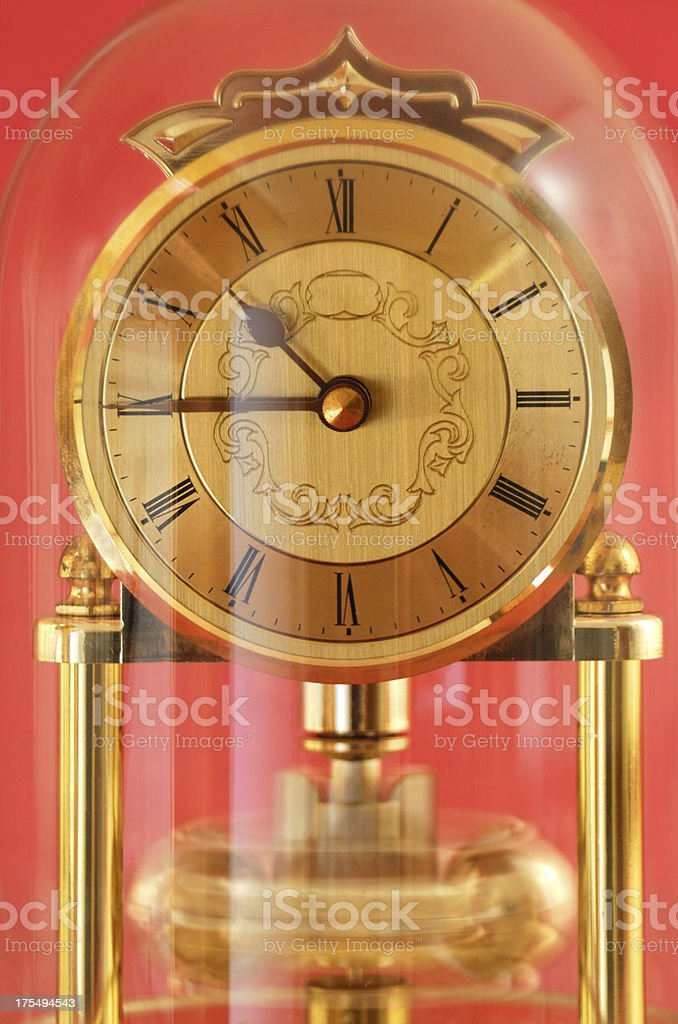 Carriage Clock royalty-free stock photo