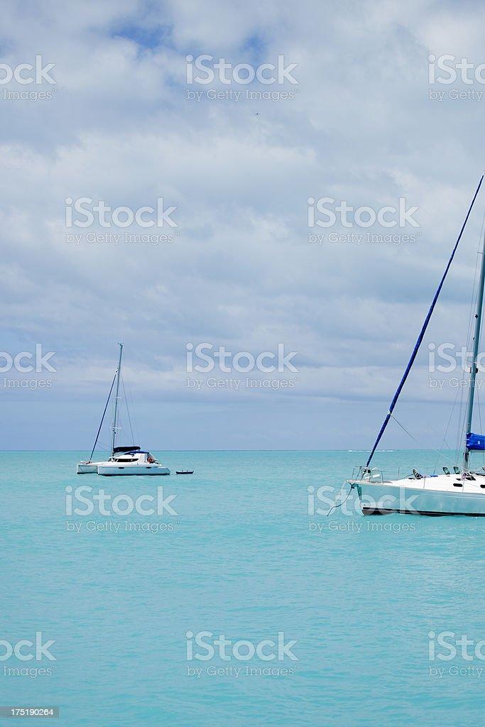 Carribbean Sea royalty-free stock photo