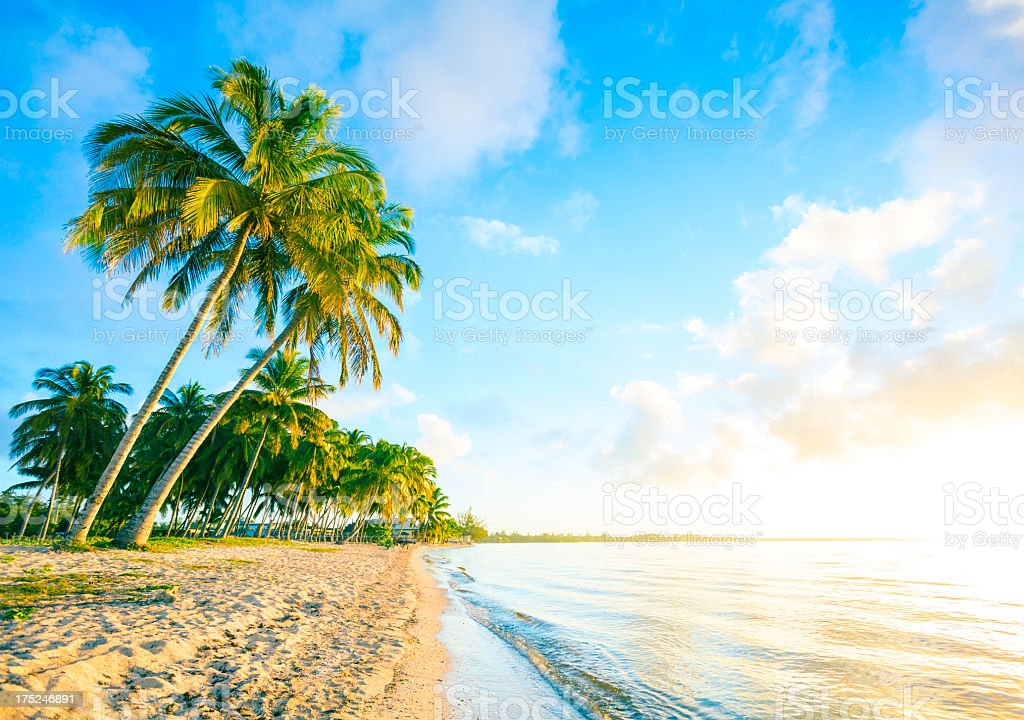 Karibischen Strand (Bay of Pigs, Kuba) – Foto