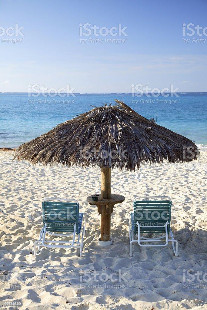 Carribean Beach royalty-free stock photo