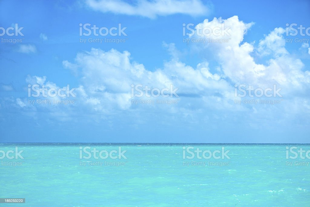 Carribean sea royalty-free stock photo