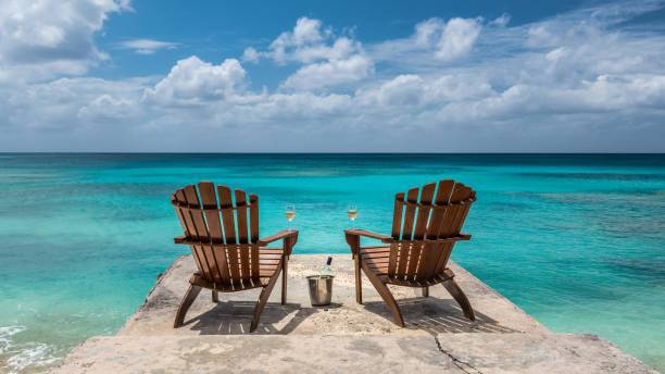 Carribean View - foto stock