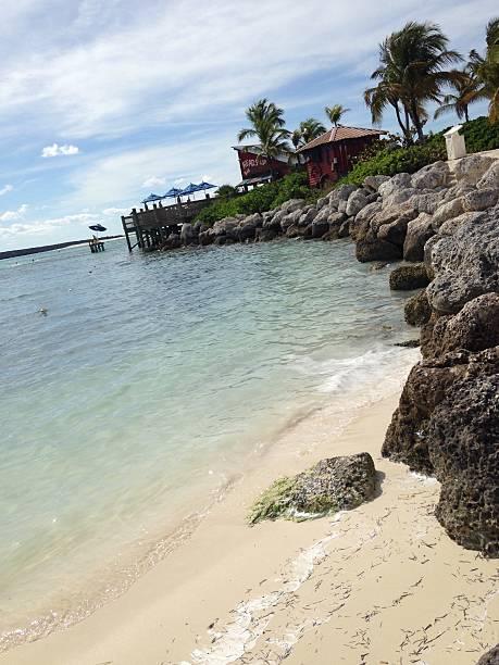Carribian harbor – Foto