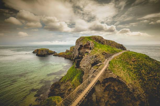 Carrick-a-Rede Seilbrücke, Nordirland – Foto