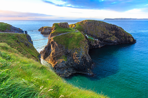 istock Carrick-A-Rede Rope in Northern Ireland 589420654