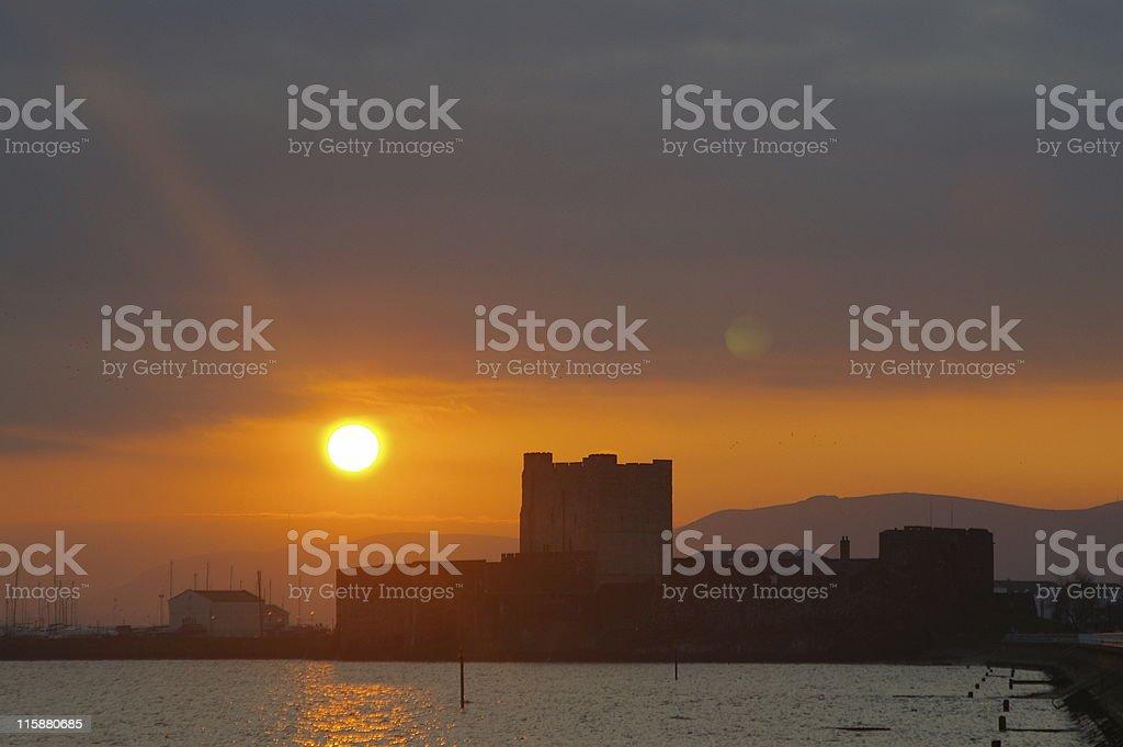 Carrickfergus Castle royalty-free stock photo