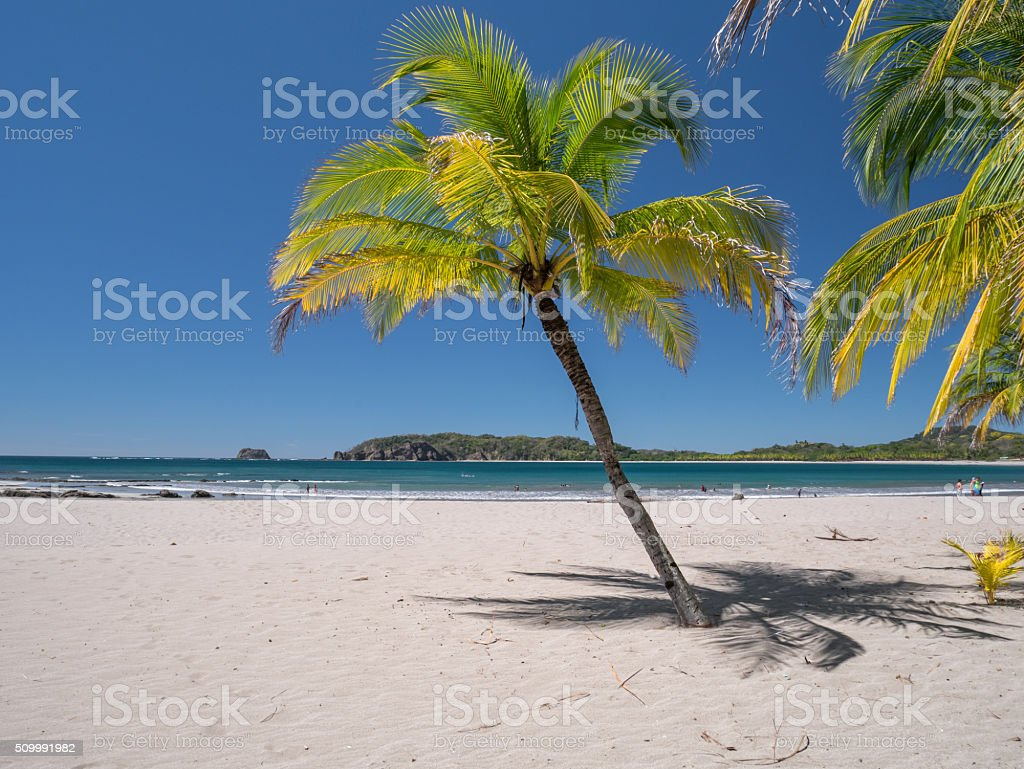 Carrillo Beach in the near of Samara royalty-free stock photo