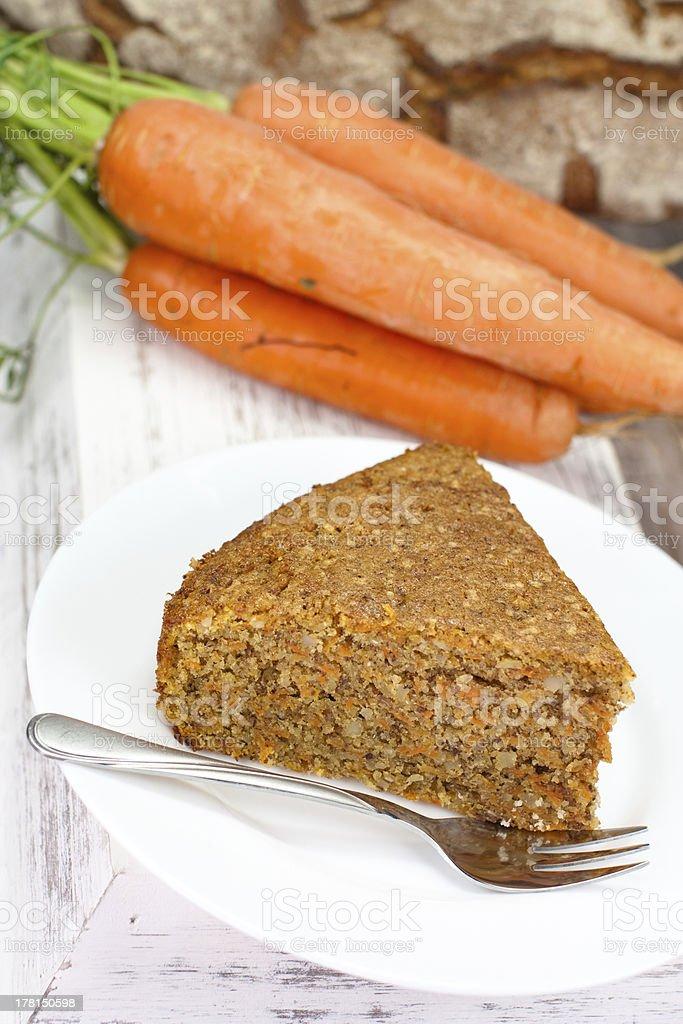 carrot cake royalty-free stock photo