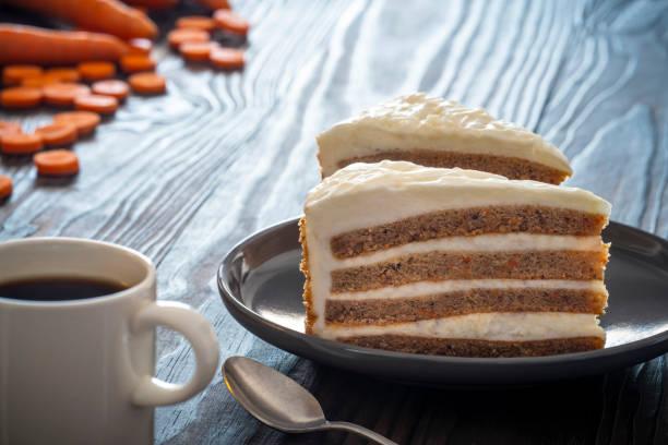 lát bánh cà rốt với thành phần cà rốt bữa sáng - carrot pie hình ảnh sẵn có, bức ảnh & hình ảnh trả phí bản quyền một lần