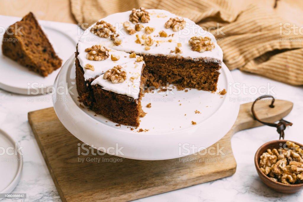 karottenkuchen mit frischkäse