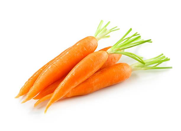 Carrot Heap stock photo
