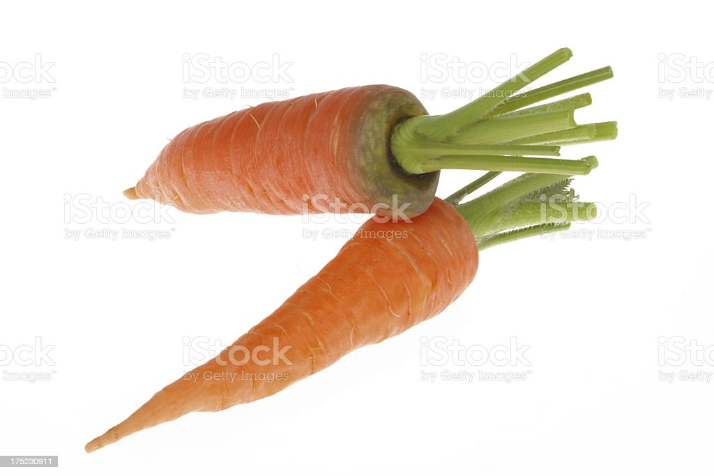 Carrot Heap without Leaves royalty-free stock photo