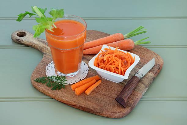 Carrot Juice Drink stock photo