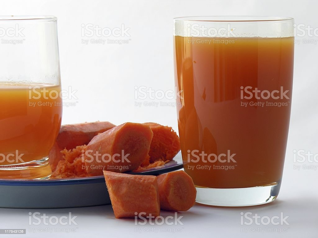 carrot juice for health royalty-free stock photo