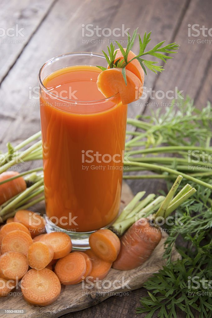 Carrot Juice royalty-free stock photo