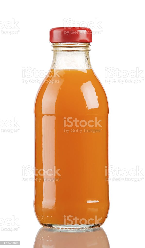 carrot orange juice stock photo