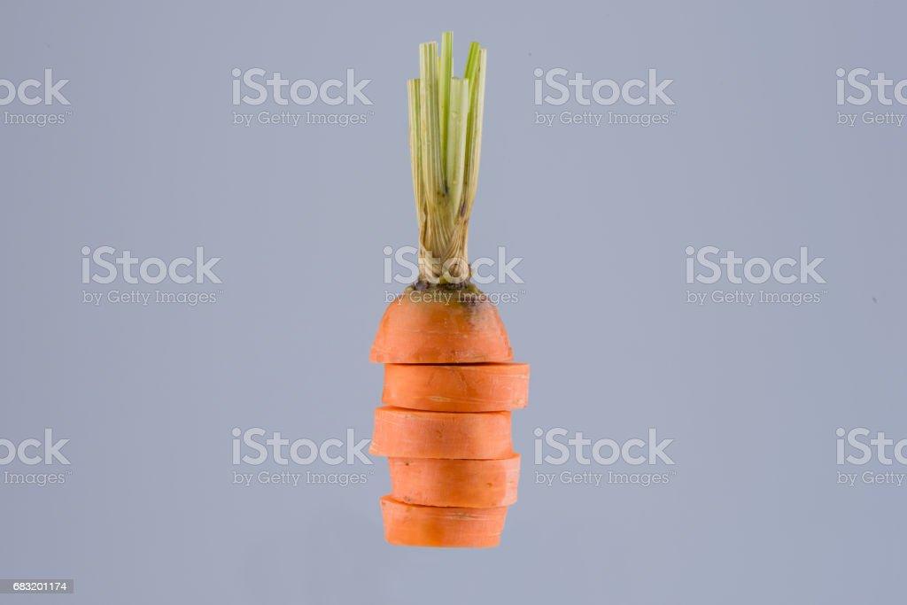 胡蘿蔔片 免版稅 stock photo
