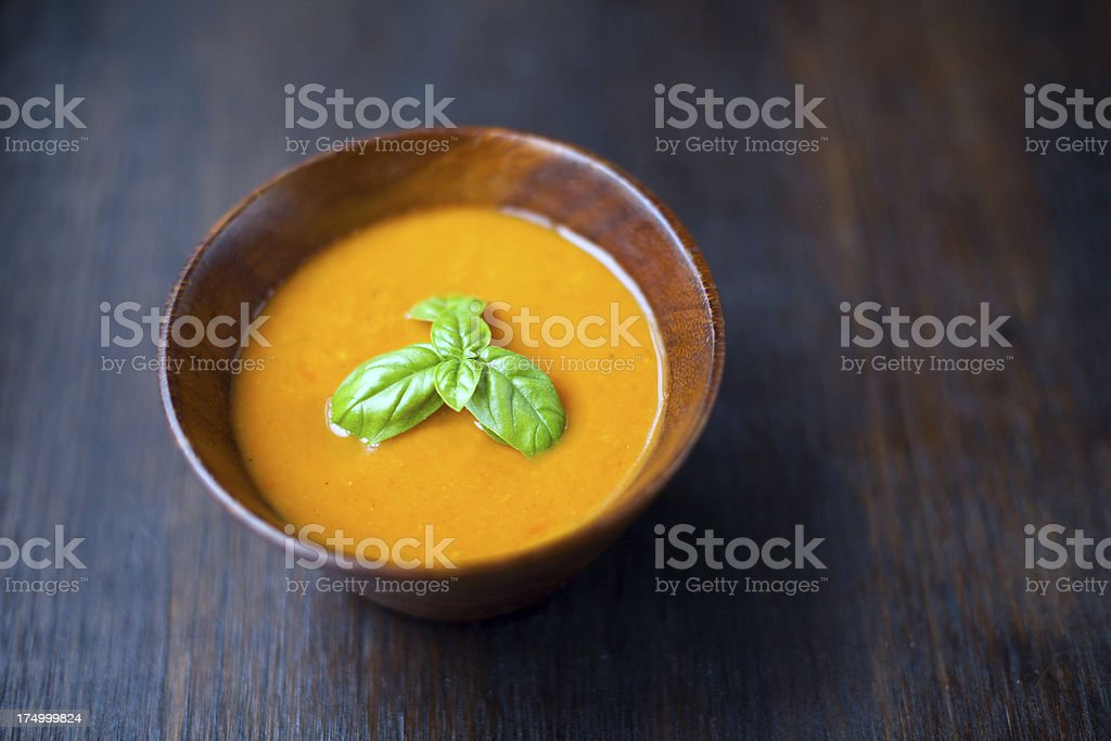 Carrot Soup royalty-free stock photo