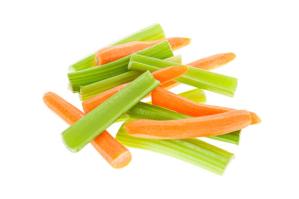 Carrots and Celery stock photo