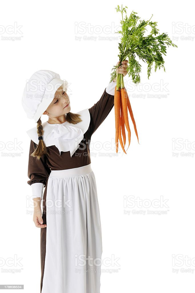 Carrots Looking Good stock photo