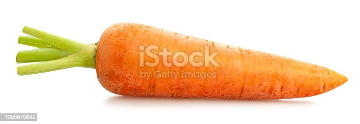 carrots path isolated
