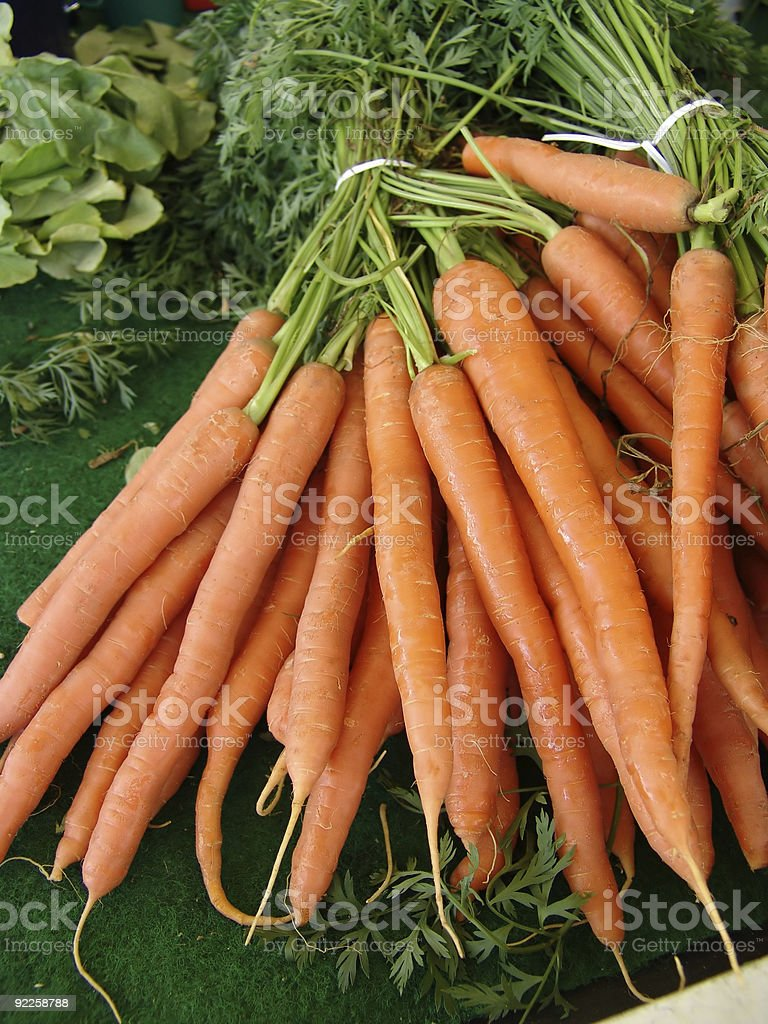 carrots royalty-free stock photo