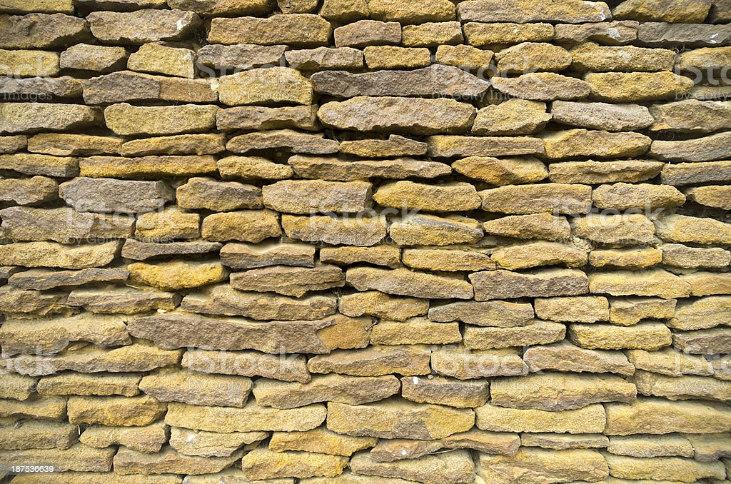 Carrstone wall background royalty-free stock photo