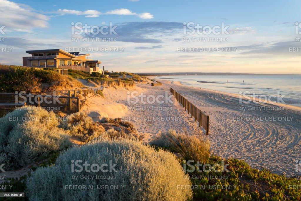 Carrum Beach, Melbourne stock photo
