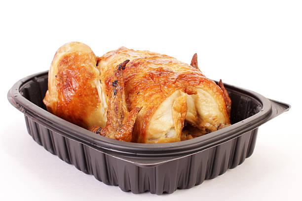 svolgere pollo per cena - girarrosto foto e immagini stock