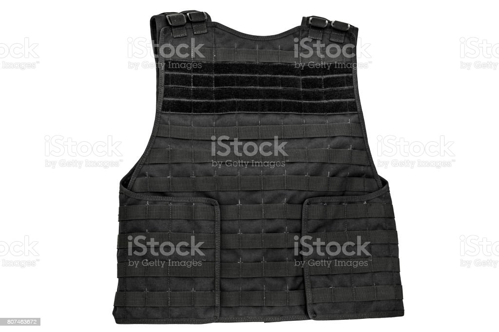 Carrying weapons case: military tactical cartridge belt for pouch made from high-tech fabric with quick connection system, close up, isolated stock photo