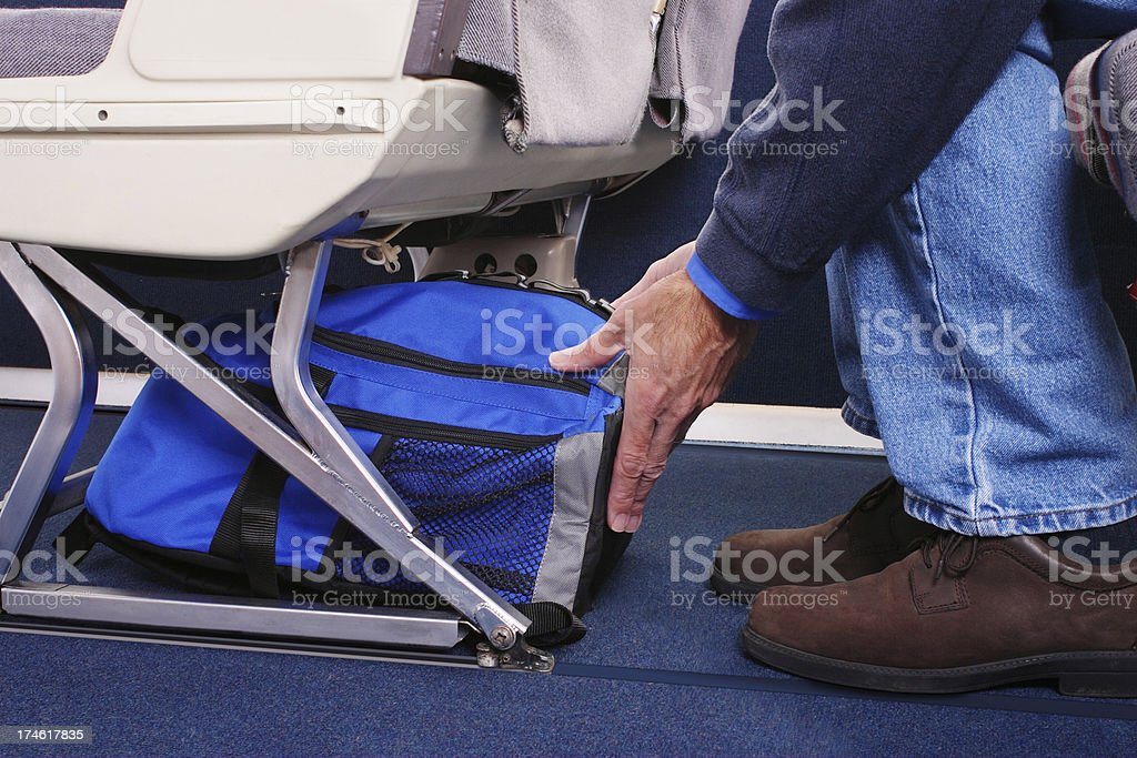 Carry-on Luggage stock photo